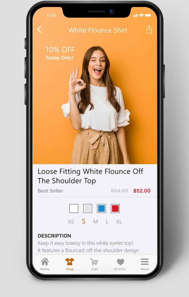 App Example Ecommerce