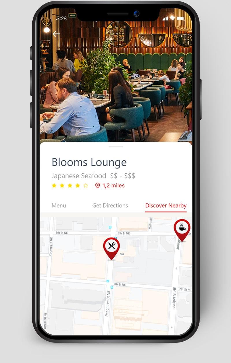 App Example Restaurant