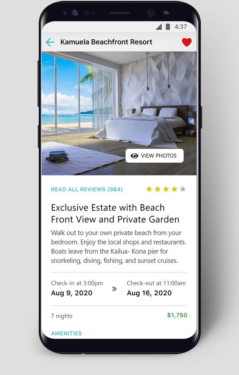 App Example Tourism