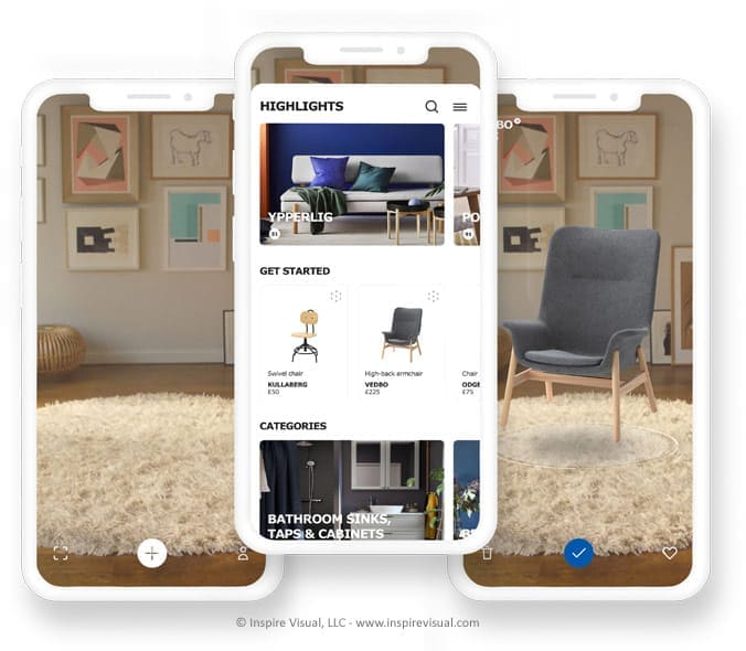 IKEA Places Augmented Reality App