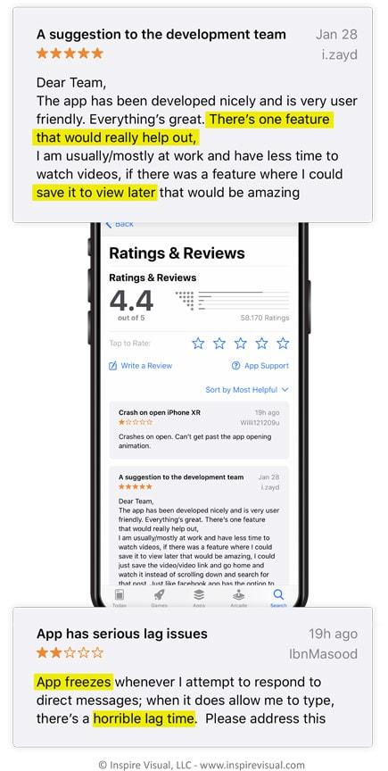 App Reviews Mobile