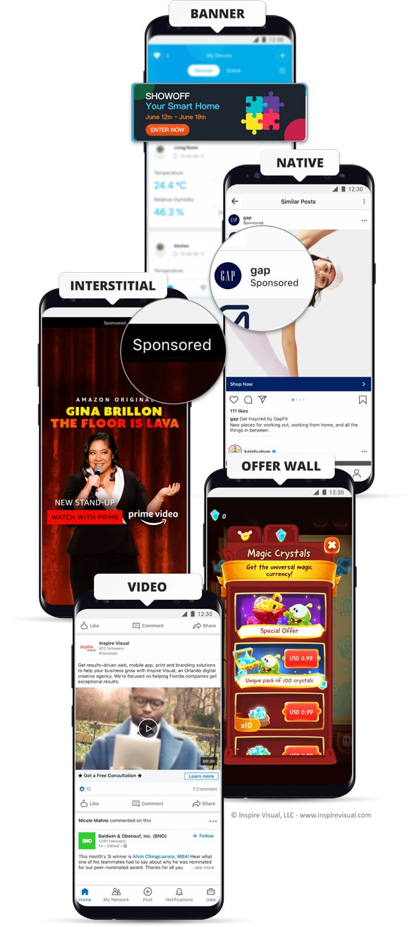 App Free with Ads Mobile