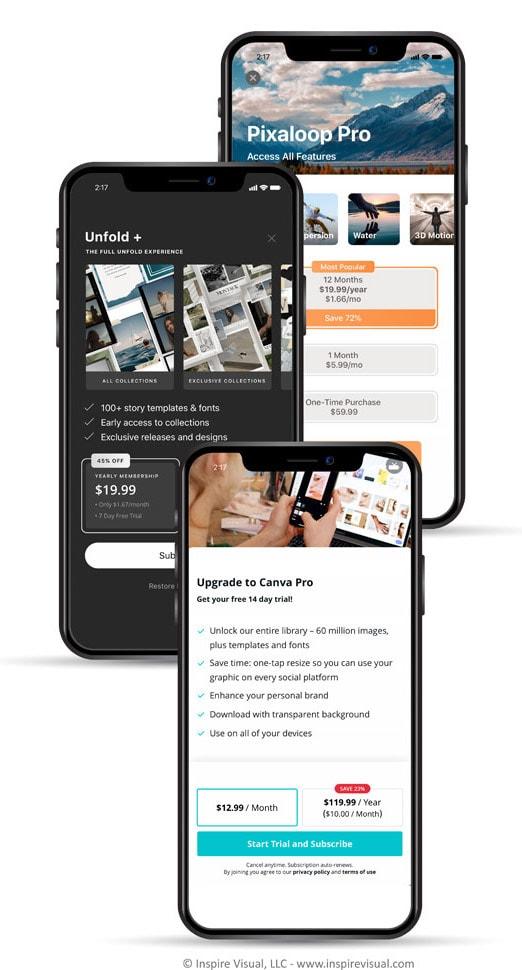 App Subscription Mobile