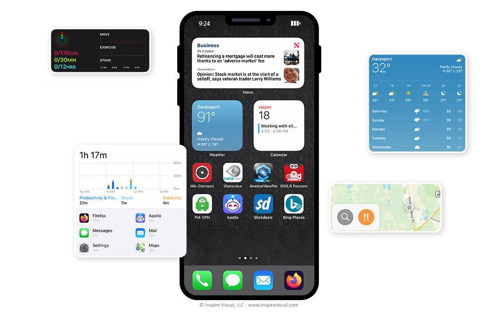 iOS 14 New Home Screen Widgets