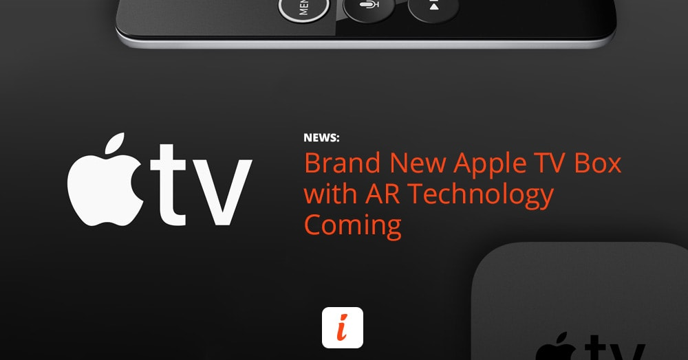 Apple TV Box with AR Technology Image