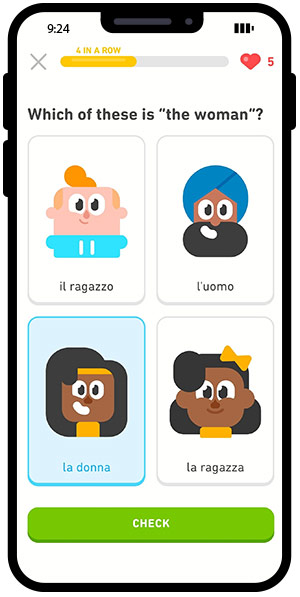 Duolingo is a fun way to learn a new language. Track your progress and join millions of learners worldwide.