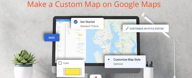 How to Make a Custom Map on Google Maps Image
