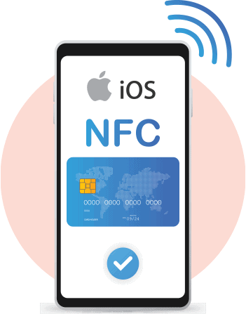 iPhone support for NFC has been possible since iPhone 7.
