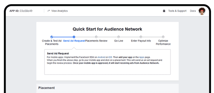 Facebook Audience Network can help publishers and developers grow their business.