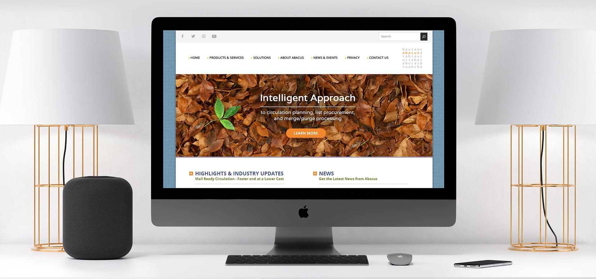 Abacus Website Branding