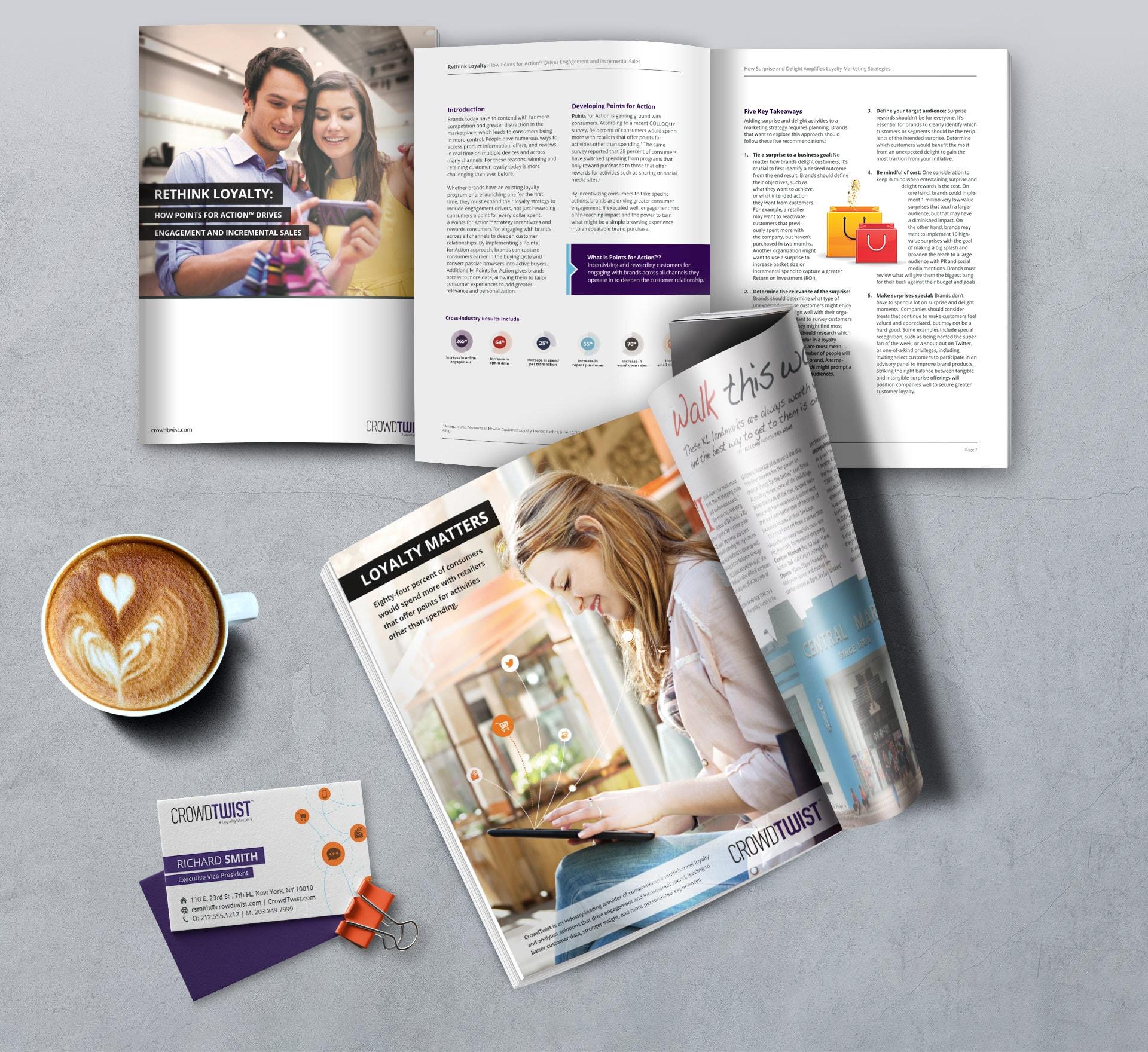 Print Rebranding Examples