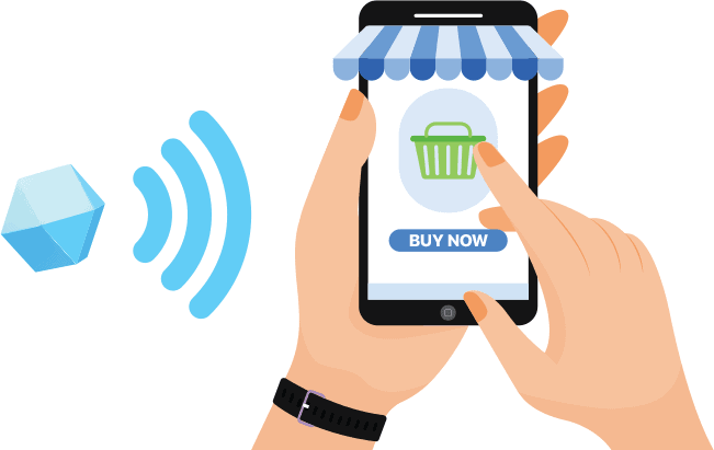 Location based beacon technology are especially used by retail stores to entice customers.