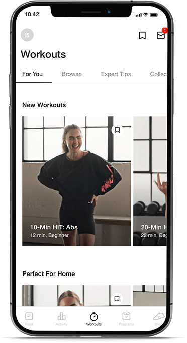 Nike Training Club is a feature rich app for a healthy lifestyle.