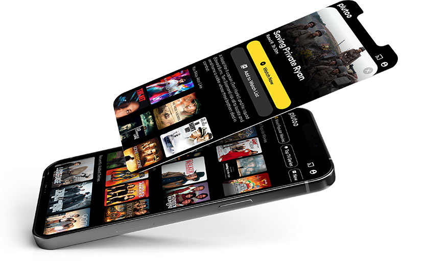 With a selection of over a thousand movies and tv-shows, there's plenty to choose from.