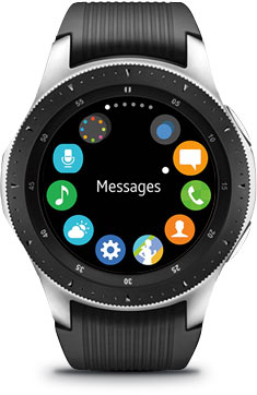Android watch app example