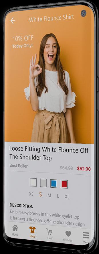 Cross-platform Android app example