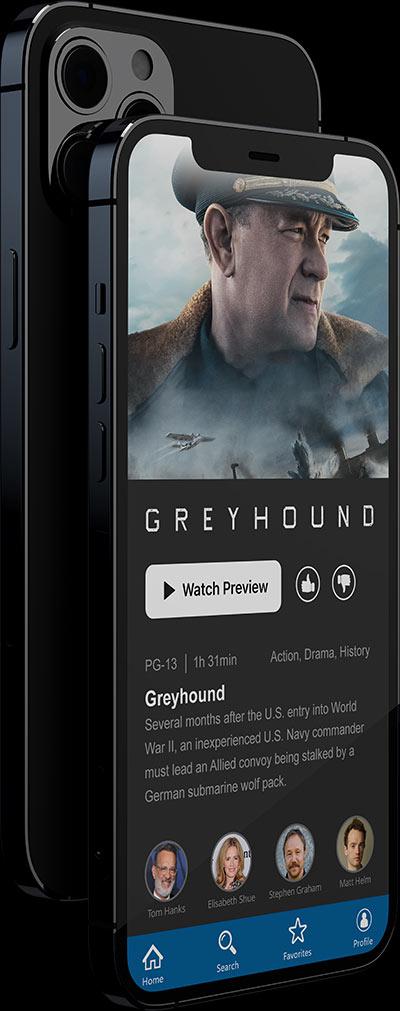 Cross-platform iOS app example