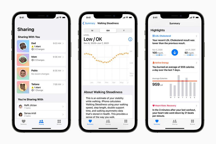 iOS 15 Health App